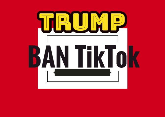 Donald Trump says he will ban Tik Tok in America